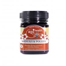 Genuine Manuka Honey & Pollen 250g MGO 100 - Manuka Honey Enriched with Bee Pollen