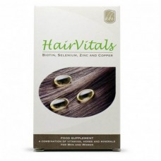 HairVitals Vitamins for Hair Growth 30 tabs - Mix of Vitamins Against Hair Loss And Supportive For Hair Growth