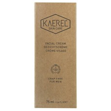 Kaerel Skin Care for Men Facial Cream 75ml - Crap Free, All Natural & Organic