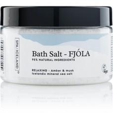 Spa of Iceland Bath salt – Fjóla 300ml