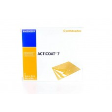 Acticoat 7 Silver-Coated Silver Coated Antimivrobial Dressings 5cmx5cm (5s) - Burns, ulcers