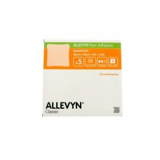Allevyn Non-Adhesive Large 15cm x 15cm (5s) Absorbent, Comfortable woundcare for Patients