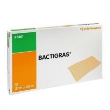 Bactigras 7461 Total Antiseptic Dressing Size 15cm X 20cm 10 pcs