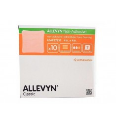 Allevyn Non-Adhesive Large 10cm x 10cm (10s) Absorbent, Hydrocellular Foam